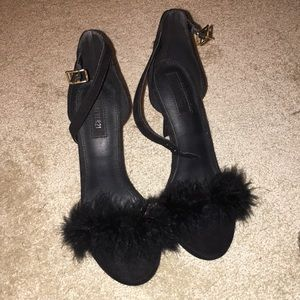 Forever 21 Furry Heels